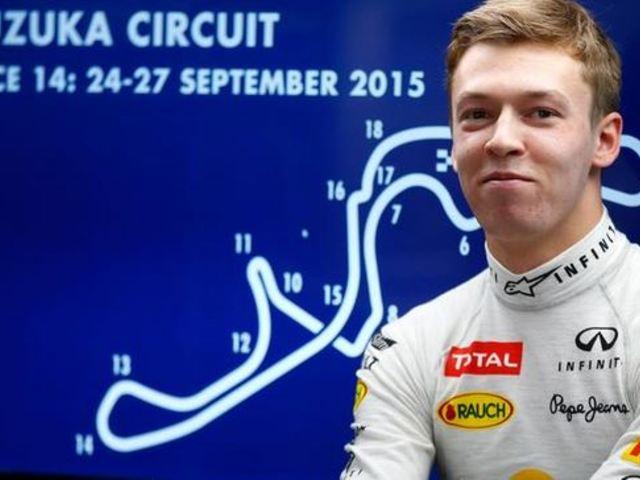 F1 Kvjat volt a leggyorsabb, az eső a második edzésbe is beleszólt