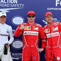 F1 Räikkönen hosszú idő után újra pole-ban