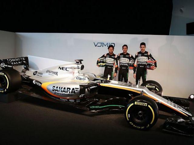 F1 Megérkezett az idei Force India is