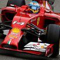 F1 Alonso zárt az élen az eső miatt rövidre sikerült 2. szabadedzésen