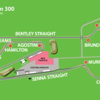 Rajongók nevezték el a snettertoni pálya kanyarjait: Hamilton; Williams; Chapman...