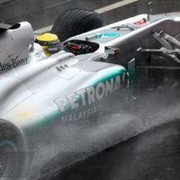 Rosberg volt az esős tesztnap legjobbja