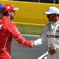 F1 Hamiltoné és Vettelé az első sor Barcelonában