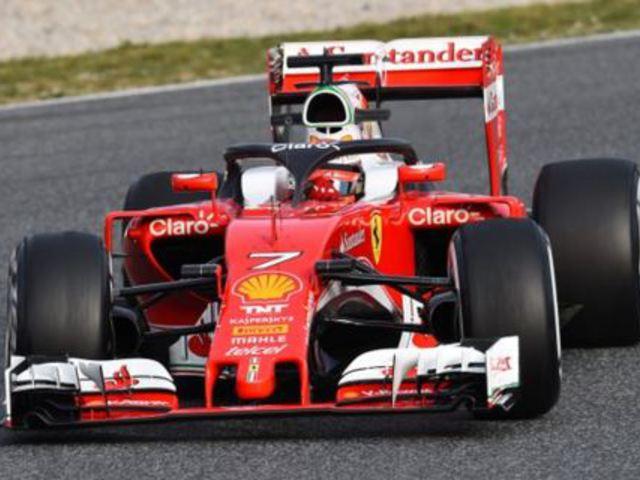F1 Räikkönen az idei tesztek eddigi legjobb idejével zárta az élen