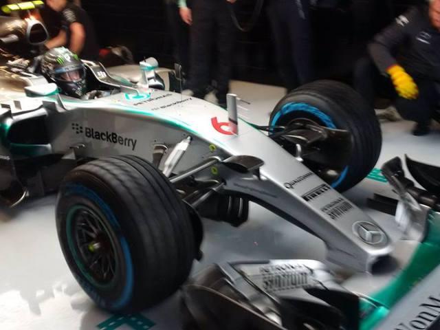 F1 A Q2 döntött a rajtsorrendről, Rosbergé a pole