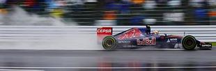 F1 Elmosta az eső az első szabadedzést Szuzukában