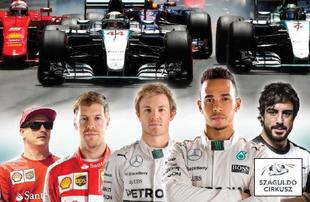 F1 Megjelent a SZÁGULDÓ CIRKUSZ 2015-2016