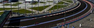 F1 Az Orosz Nagydíj rajtrácsa a büntetéseket követően