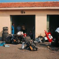 Motorcsere Monzában