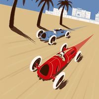 Grand Prix-versenyzés Észak-Afrikában