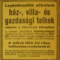 Száz éves hírek - 1912 augusztus