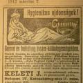 Száz éves hírek - 1912 március