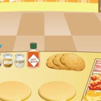 Pizza sütős játék