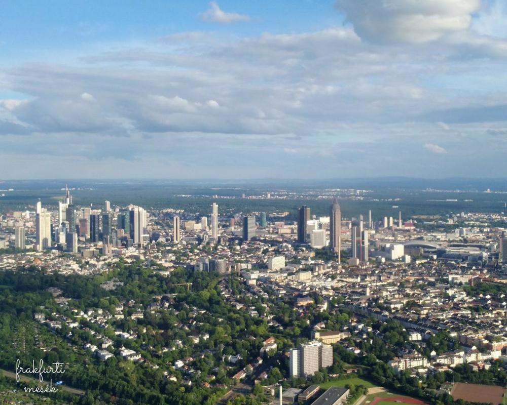 Setarepules Frankfurt felett
