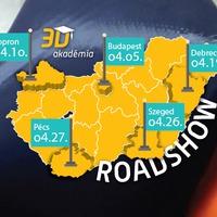 3D gyártástechnológiai képzések országszerte a 3D Akadémiával