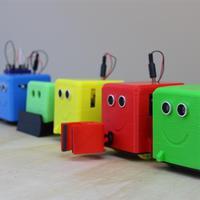 Nyomtatott robotok az oktatásban