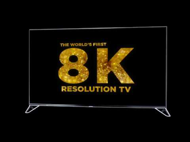 Sharp elég Sharp a 8K-s TV-vel