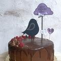 Mogyorókrémes mascarponés torta