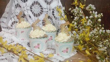 Mákos cupcake citromos mascarpone krémmel