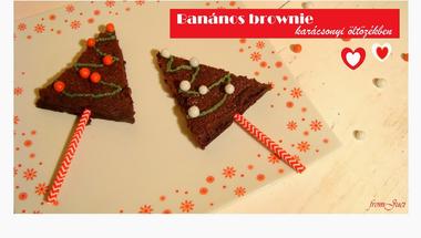 Banános brownie, VKF! 60