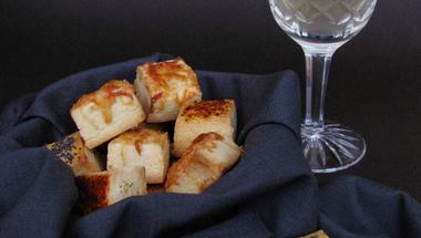 Omlós sós vágott teasütemény avagy bor-sörkorcsolya