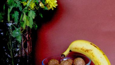 Banános kekszgolyó