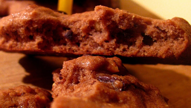 Csokis-mogyorós keksz