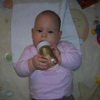 Fruzsi baba 6 hónapos