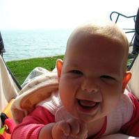 Fruzsi baba 5 hónapos