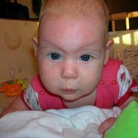 Fruzsi baba 4 hónapos