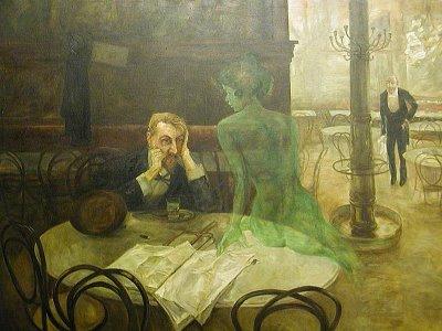 abszint - Zöld tündér