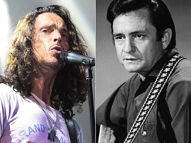 Chris Cornell is Johnny Cash versét énekli