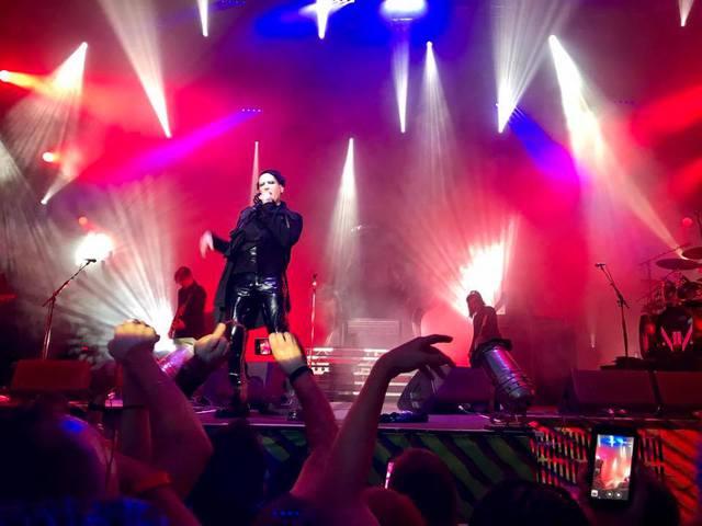 Tisztességes koncert egy kevésbé ijesztő Mansontól