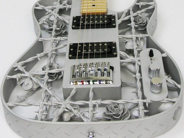 Elkészült a világ első 3D nyomtatós alumínium gitárja