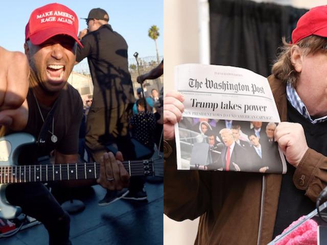 Michael Moore rendezte a Prophets of Rage új klipjét