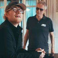 Ed Sheeran-nek énekel Andrea Bocelli