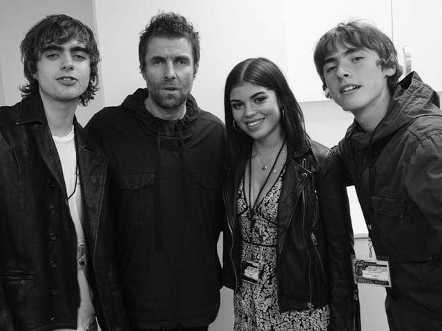 21 év után találkozott lányával Liam Gallagher