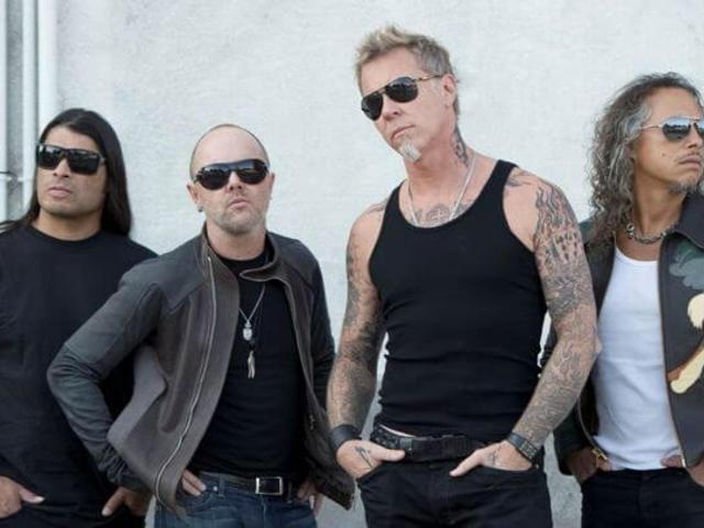 Ötvenhét országban tarolt a Metallica