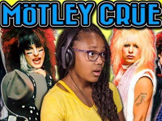 Így reagálnak a gyerekek a Mötley Crüe riffjeire