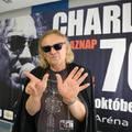 70. szülinapját kivételesen koncerttel ünnepli Charlie