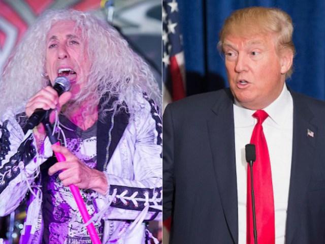 Donald Trump öltönyben zúz a Twisted Sisterrel