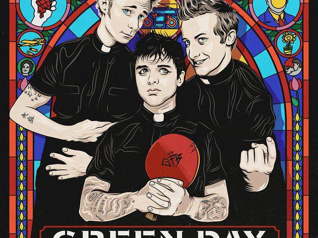 Isten kedvenc bandája a Green Day