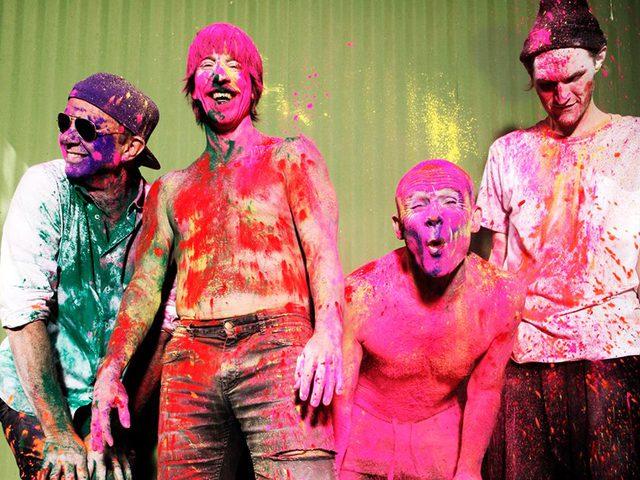 Így cserkésztük be a Red Hot Chili Peppers dobosát