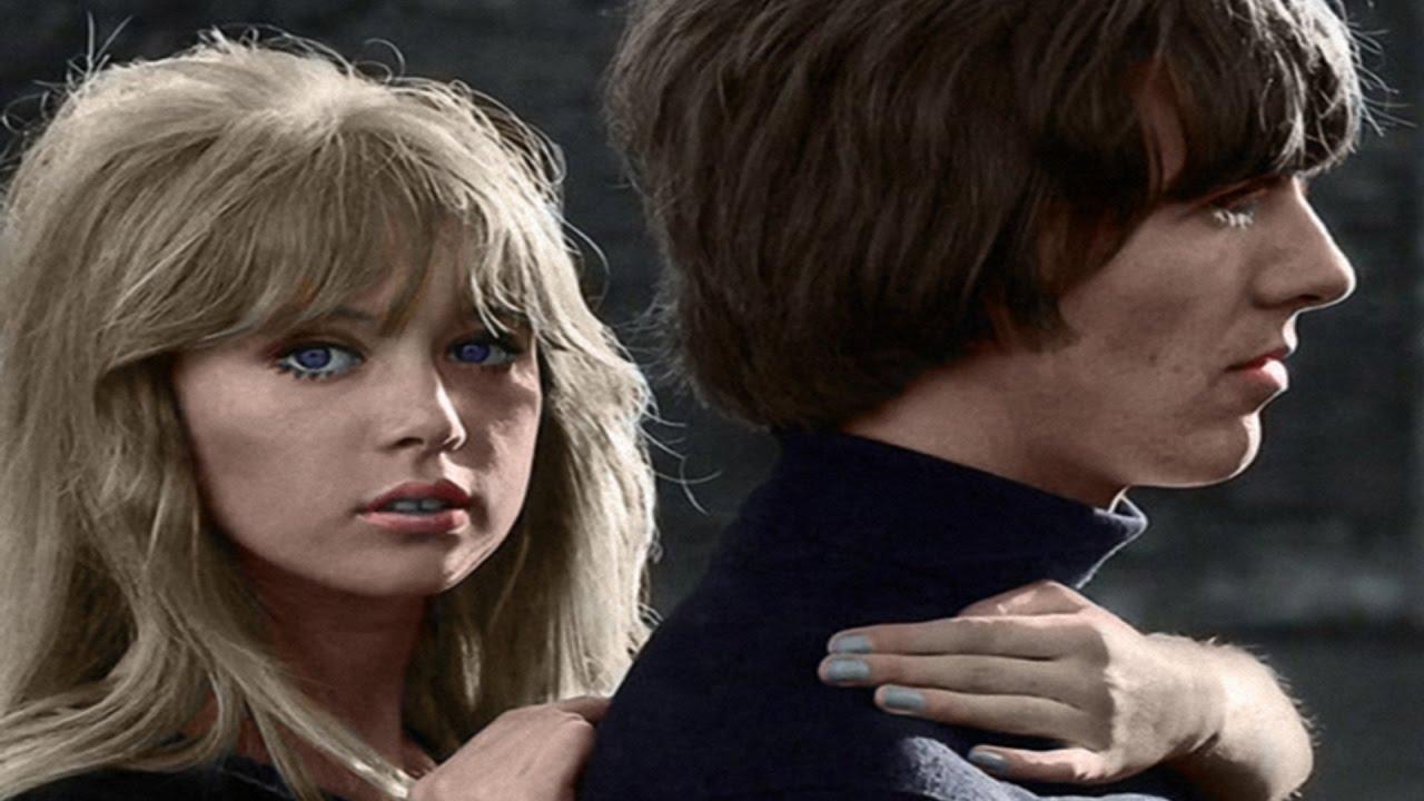 Első feleségével, Pattie Boyddal, akivel a Hard Day's Night castingján találkozott először