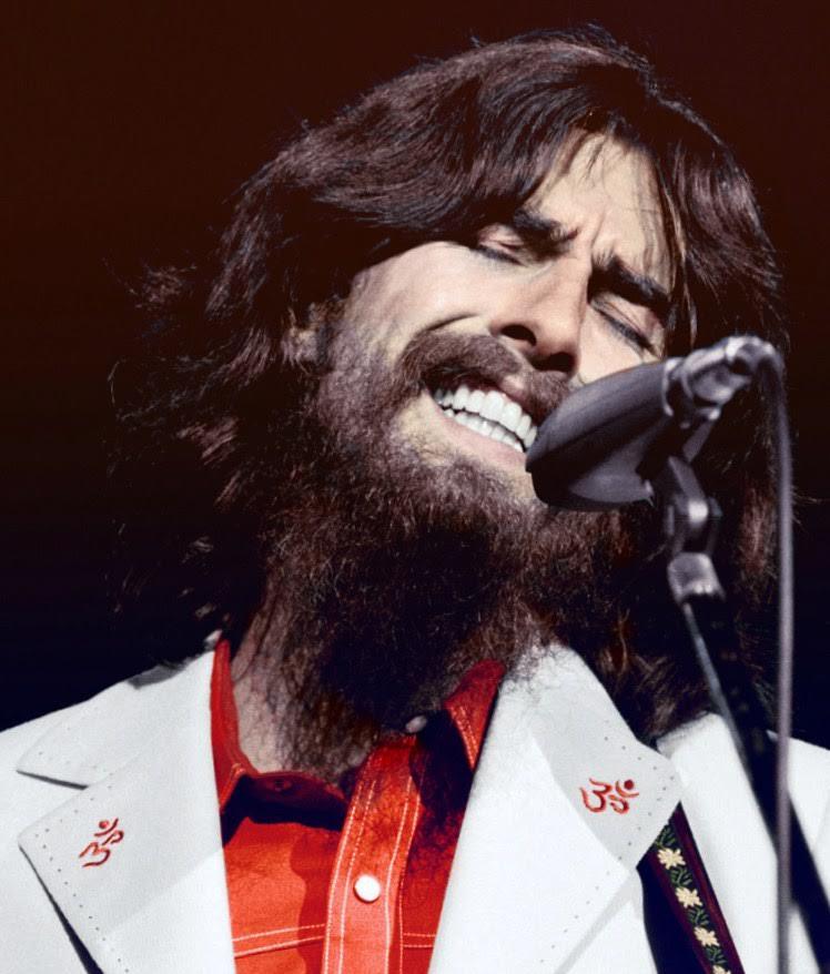 Harrison volt az első zenész, aki komolyabb segélykoncertet szervezett. Egy fotó a híres Banglades segélykoncertről