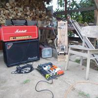 Házi steelgitár, házilag feljavítva
