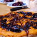 Sütőtök-szilvalekvár pite