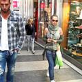 Ibrahimovic felesége Milánóban vásárolgat