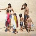 Raúl és családja a Baleár-szigeteken