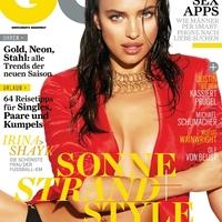 Irina Shayk német GQ magazinban